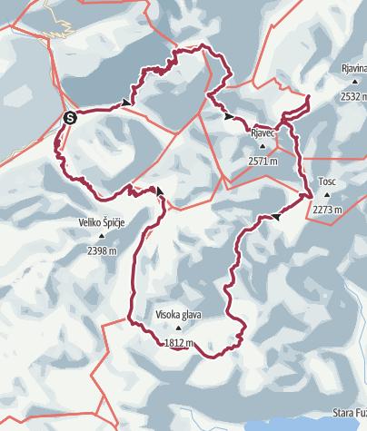 Zemljevid / Slowenien 2019