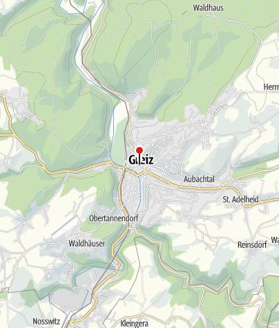 Karte / Rathaus Greiz