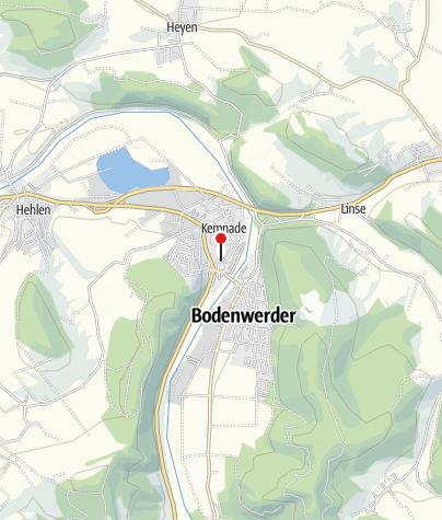 Karte / Parkplatz 2 in Bodenwerder