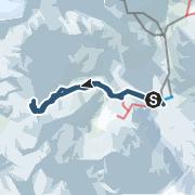 Map / Langgrubjoch (3080 m), Schnalstal