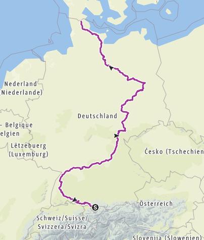 Karte / Enkeltauglich Tour 2019