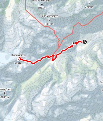 Kaart / Rinnenspitze am 18. August 2019