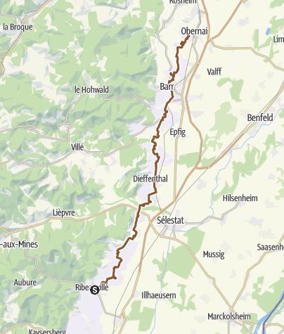 Carte / Tourenplanung am 22.08.2019 10:25:14