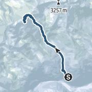 Map / Tuferspitz (3.097 m) durchs Flatschbergtal