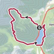 Map / Rundwanderung beim Pragser Wildsee