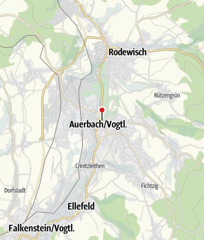 Map / Göltzschtalgalerie Nicolaikirche Auerbach
