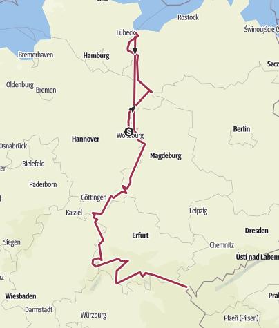 Karte / Tour aus GPX-Track am 28. Dezember 2019