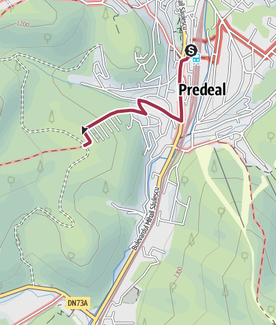 Map / Gara Predeal - Cartier Tineretului