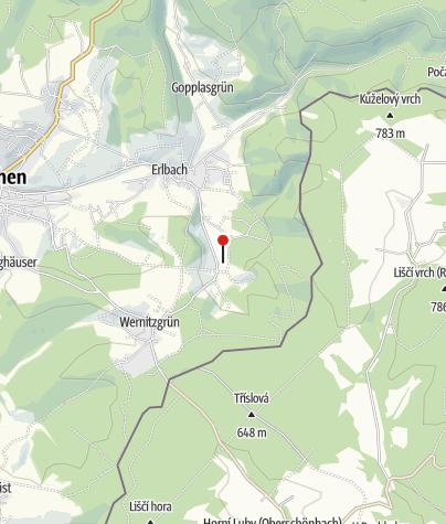 Karte / Vogtländisches Freilichtmuseum Eubabrunn