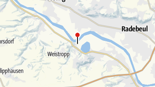 Karte / Bahnhof Niederwartha