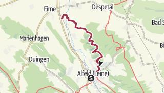 Karte / ...über die Sieben Berge bei Alfeld