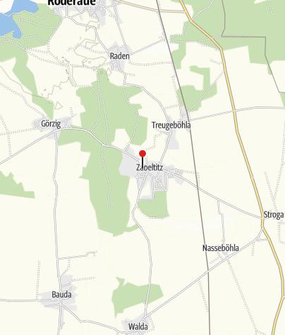 Map / St.-Georgen-Kirche Zabeltitz
