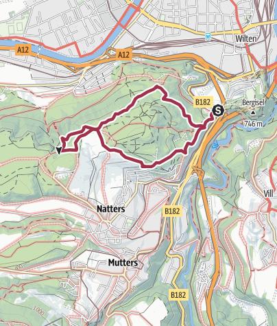 Karte / TRAIL A