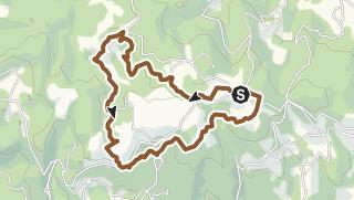 Carte / Circuit 02 - Le Grand Rocher - Saint-Goussaud