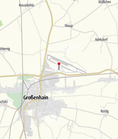 Karte / Flugplatzausstellung Großenhain