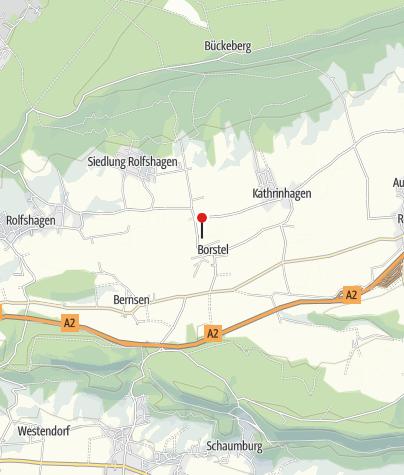 Karte / Mühle Borstel