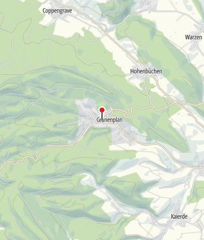 Karte / Touristinformation Grünenplan