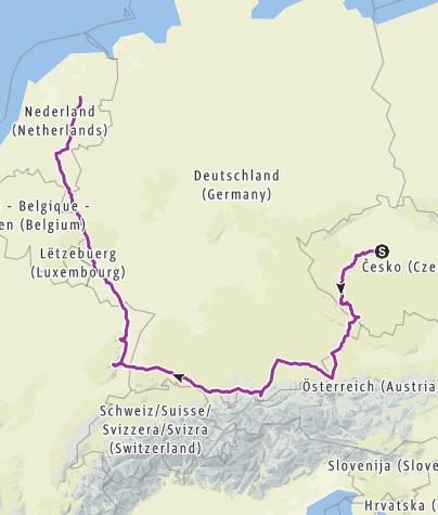 Carte / Praag - Nijeveen 3