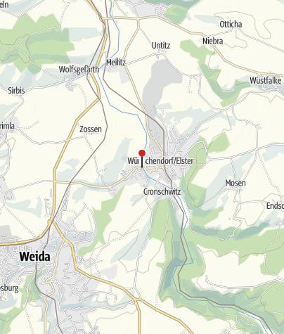Karte / Wünschendorfer Holzbrücke