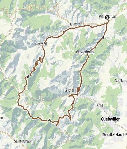 Carte / Route Grand Ballon