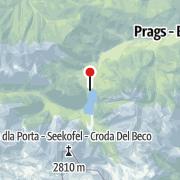 Map / Zeitgeschichtsarchiv Pragser Wildsee