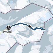 Map / Ahrner Kopf 3051m über das Windtal