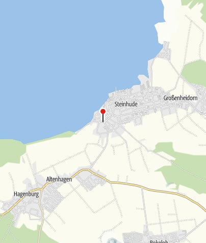 Karte / Infopunkt Fürstenroute Steinhude Scheunenviertel