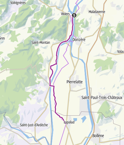 Carte / Via Rhona 17 - viviers-lapalud