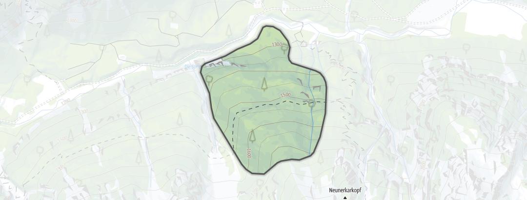 Karte / Angeralm Süd