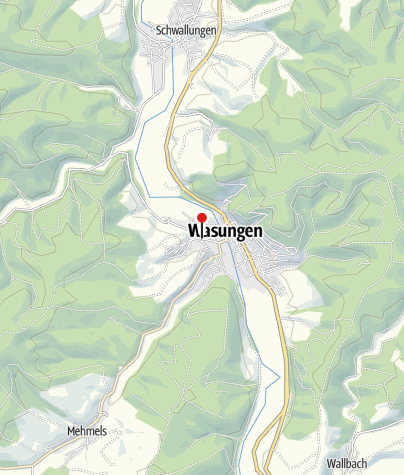 """Karte / Gaststätte """"Zur Rosenau"""""""