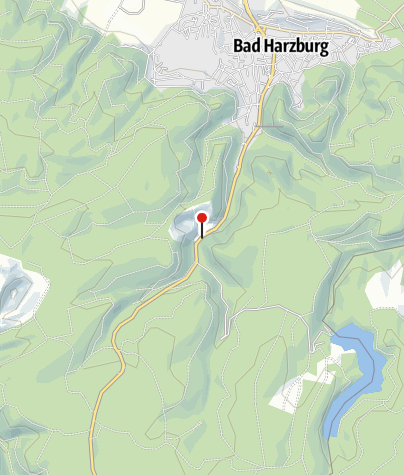 Karte / Einblick in den Gabbro-Streinbruch