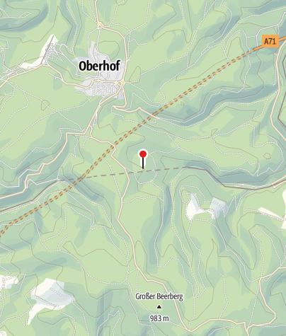 Karte / Forsthaus Sattelbach
