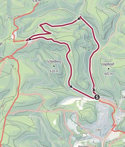 Karte / Baudensteigrundweg-Nr-6-Wieda-Stoeberhai