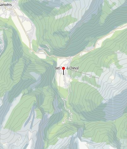 Carte / Gîte Auberge de Salvagny