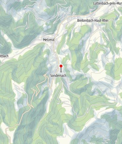 Carte / Location Frech la Marguerite et le Panoramic