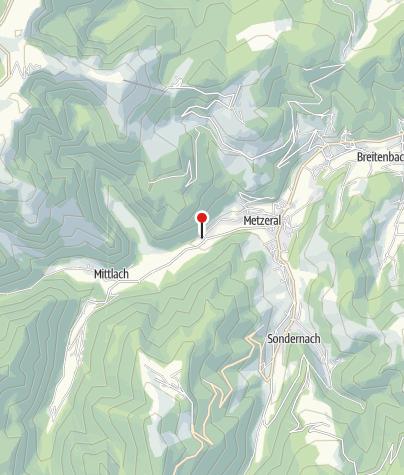 Carte / Auberge et Chalets de la Wormsa