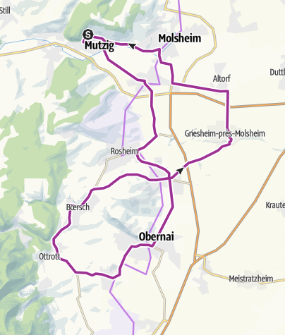 Carte / vélo route38km