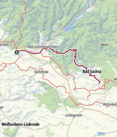 Karte / Barbis - Bad Sachsa