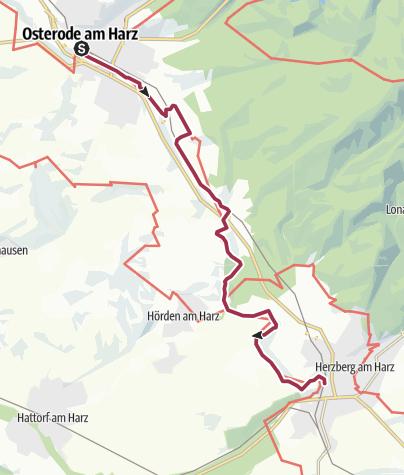Karte / Osterode-Herzberg