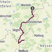 Map / Der Rothaarsteig