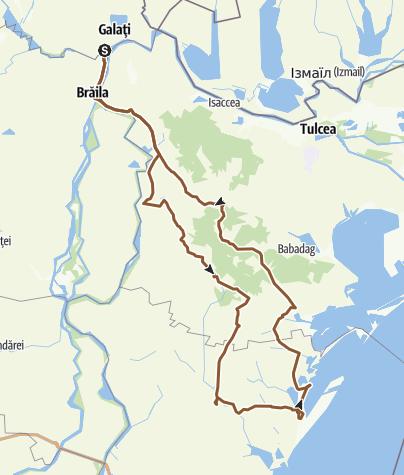 Map / Tura la mare - 1 mai