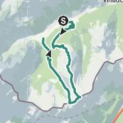 Map / Hoher Lorenzenberg über Allerleigrubenspitze und Koatenberg