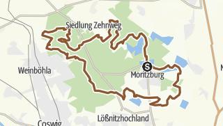 Karte / Moritzburger Trails V2