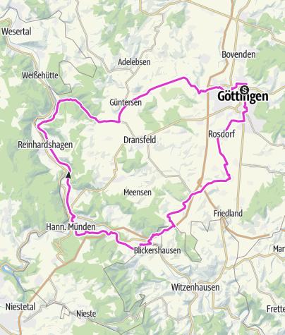 Karte / Mittlere Trainingsfahrt