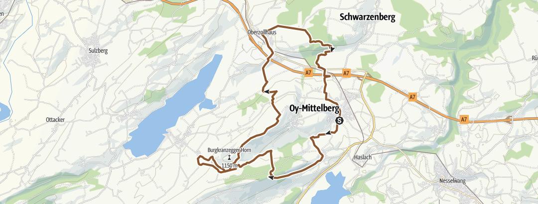 Map / Die Wilhelm-Tell-Tour