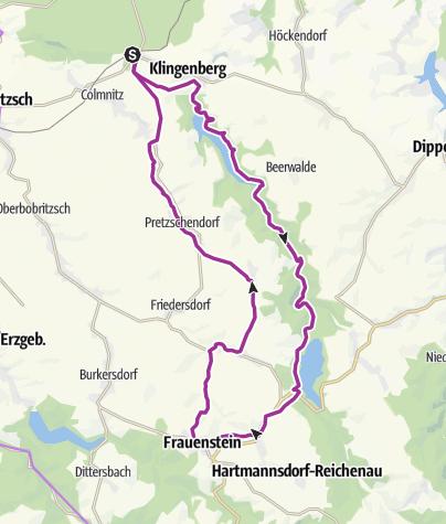 Karte / Erz, Orgeln und Wasserkraft