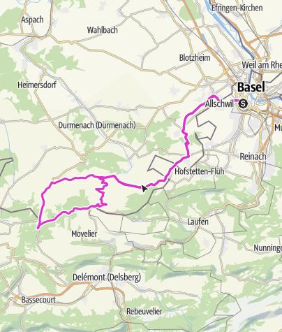 Carte / Winkel-Kiffis-Basel