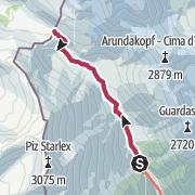 Map / Zum S-charljoch