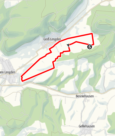"""Karte / Rundweg """"Heiligenberg"""""""