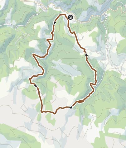 Carte / Les clochers de tourmente du mont Lozère